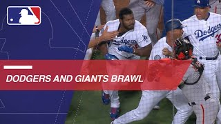 Benches clear after Yasiel Puig, Nick Hundley get into confrontation