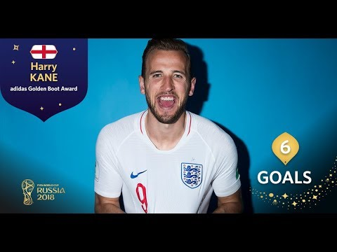 ADIDAS GOLDEN BOOT - Harry Kane - FIFA World Cup™ Russia 2018