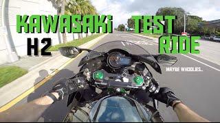 2. Kawasaki Ninja H2 Test Ride & Review