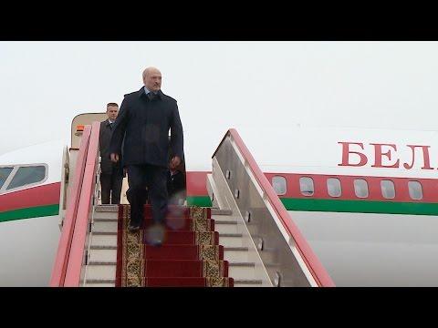 Лукашенко прибыл в Санкт-Петербург для встречи с Путиным