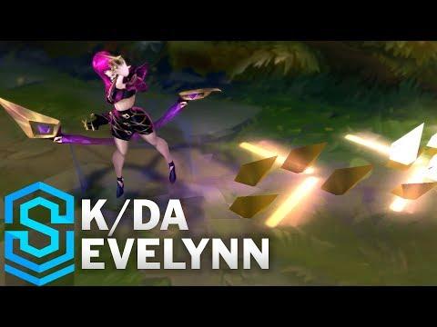 Evelynn Thần Tượng Âm Nhạc - K/DA Evelynn