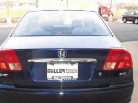 2002 honda civic ex sedan - Miller Toyota Scion, Manassas, VA - http://miller-toyota-scion.ebizautos.com/detail-2002-honda-civic-ex_coupe-used-8156142.html.