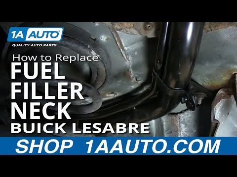How To Install replace Rusted Fuel Tank Filler Neck 1992-99 Buick Lesabre