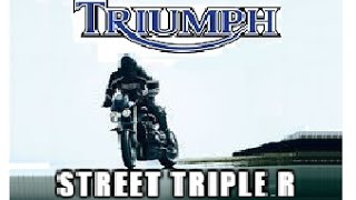 8. Triumph Street Triple R 2009 Ride, Review, and Rating!