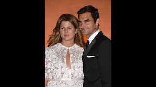 Roger Federer arrives at Wimbledon Champions Dinner after record eighth victory as Garbine Muguruza gets set to dance with ...