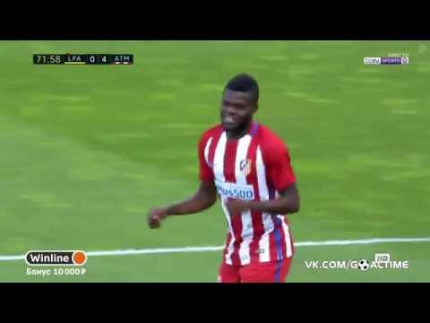 Las Palmas – Atletico Madrid  0 - 4  Thomas goal