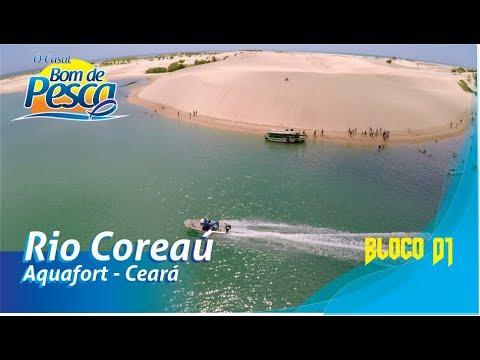 O Casal Bom de Pesca - Pescaria no rio Coreaú, no Ceará - 1ªT Ep 03 - Bloco 1