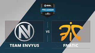 EnVyUs vs fnatic, game 1
