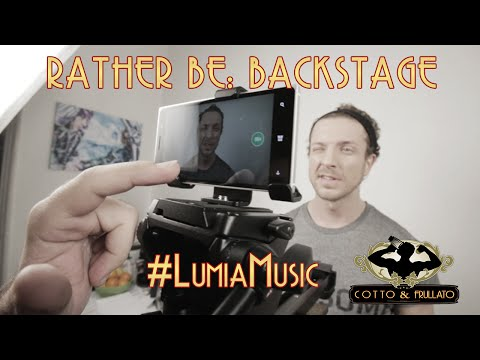 Rather Be: Backstage #LumiaMusic - Thời lượng: 3 phút, 20 giây.