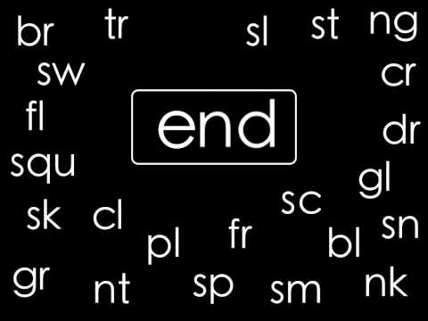 Blending - This is the original Consonant Blends Chant by ELF Learning. See the updated version here: http://www.youtube.com/watch?v=485J4amokuA ---------- Common Conso...