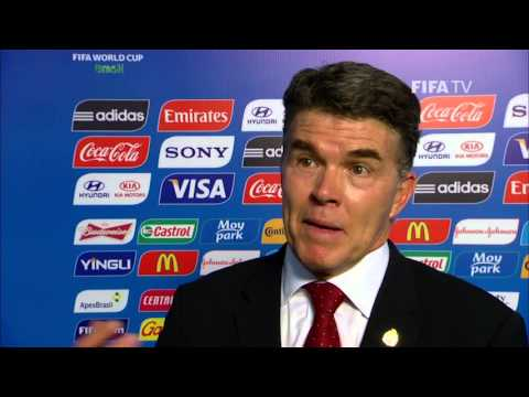 final - Mexico's Director of National Teams Hector Gonzalez speaks about his team's draw for the 2014 FIFA World Cup™. More videos about the 2014 FIFA World Cup™ Fin...