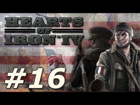Hearts of Iron IV: Kaiserreich | American Union State - Part 16 (видео)