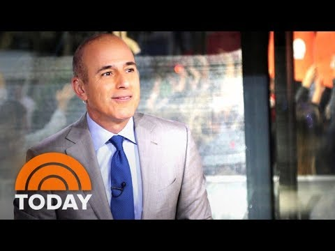 Matt Lauer: 'There Are No Words To Express My Sorrow And Regret' | TODAY