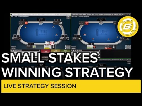 Online Poker Strategy – Winning Session at Small Stakes No-Limit Hold'em
