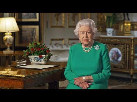 خطاب استثنائي للملكة إليزابيث بسبب كورونا
