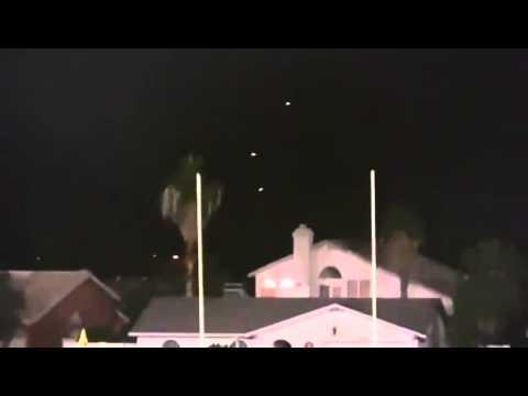 Strange Lights Over Scottsdale Arizona Phoenix Vs  Aliens Ufo Sighting 1