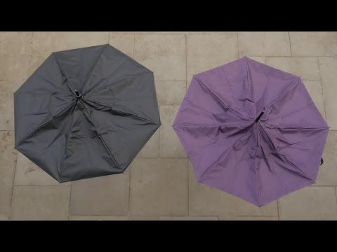 The KAZbrella - a redesigned umbrella