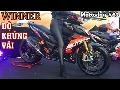 Ngắm dàn Winner 150 độ khủng tại Đại hội Winner Miền Bắc | Motovlog 62 - Thời lượng: 7 phút, 30 giây.