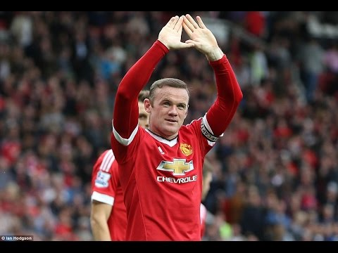 Wayne Rooney ● Great Captain ● Goals,Skills & Passes 2015-2016 HD