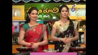 Abhiruchi - 5th January 2014 Youtube HD Video - ETV Telugu India