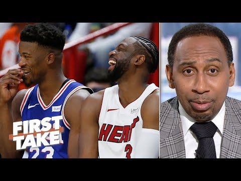 Video: Jimmy Butler is never going to be loved like Dwyane Wade in Miami – Stephen A. | First Take