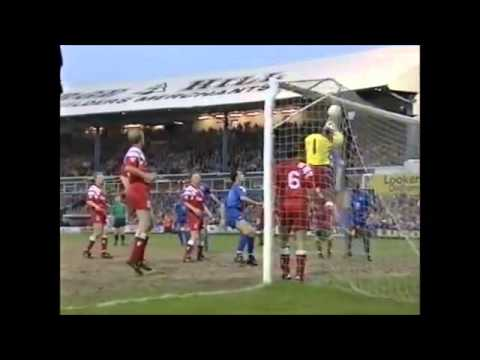 Oldham Athletic 3-2 Liverpool At Boundary Park 1992/93