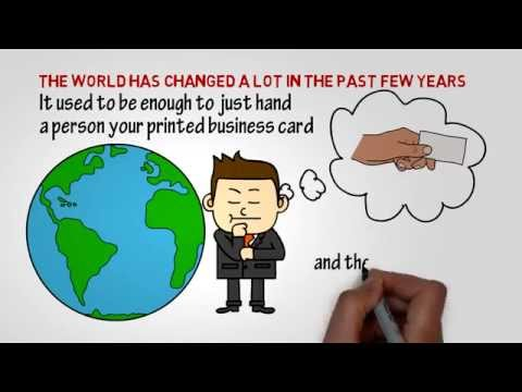 Mobile Business Card | Digital Business Card | Electronic Business Card
