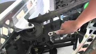 9. Adjusting Rear Suspension - 2010 Arctic Cat Crossfire 600 Snowmobile