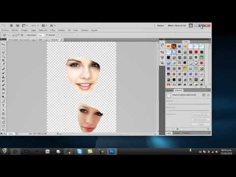 cambiar de cara en Photoshop (CS5-CS4-CS3)