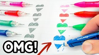 Video THEN vs NOW! Cool School Supplies You Need To Try 2017! Natalies Outlet MP3, 3GP, MP4, WEBM, AVI, FLV November 2018
