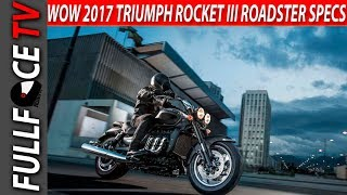 6. 2017 Triumph Rocket III Roadster Top Speed and Review