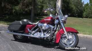 7. 2005 Harley Davidson Road King Custom  - Used Motorcycles for sale
