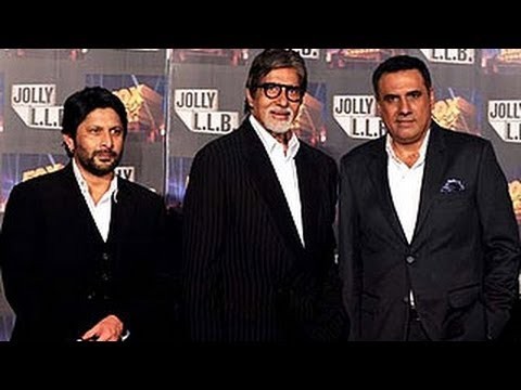 Amitabh - Arshad - Boman At The Trailer Launch Of