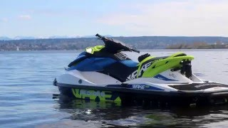 2. 2016 Sea Doo Wake 155 Maiden Voyage