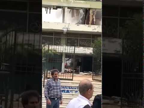 Video - ΒΙΝΤΕΟ & ΦΩΤΟ: Φωτιά στο κλειστό του Πανιωνίου στη Νέα Σμύρνη