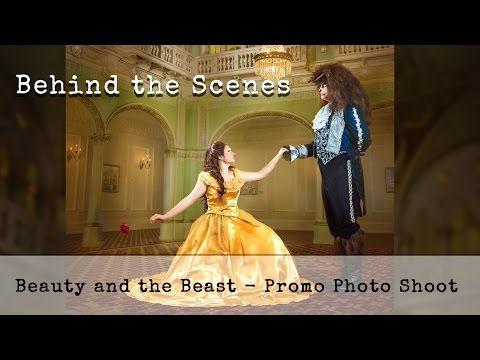 Beauty and the Beast -  Behind the Scenes Photoshoot