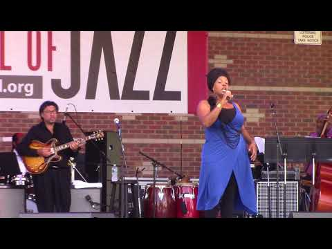 Toscha Comeaux & Rene Toledo Live! The Sweetest Taboo 7/16/2017 Greater Hartford Festival of Jazz