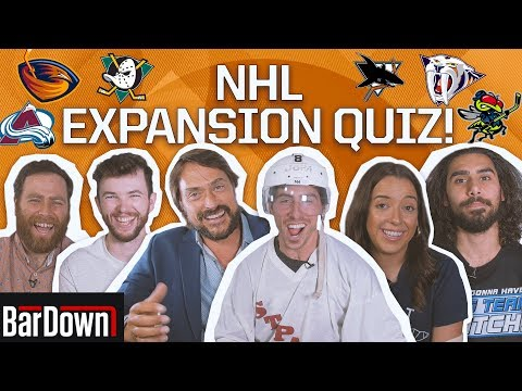 CAN YOU PASS THIS NHL EXPANSION QUIZ?