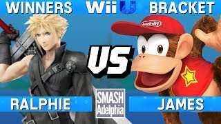 This Super Smash Bros. 4 Wii U tournament match features Ralphie as Cloud vs James as Diddy Kong. This Winners Bracket match at SMASHADELPHIA 2017 was livestreamed on 06/24/17.Enjoy the video? Hit the like button and drop a comment and let us know your favorite part. Share it with your friends and spread the hype!Check out our website:► http://clashtournaments.comWatch our live streams:► http://twitch.tv/clashtournaments► http://hitbox.tv/clashtournamentsFind us on social media:► http://facebook.com/clashtournaments► http://youtube.com/clashtournaments► http://twitter.com/clashtournament► http://instagram.com/clashtournamentsBe sure to Follow and Subscribe to us to keep up to date on all of our content. Click the bell next to the subscribe button to receive instant notifications on all uploads!