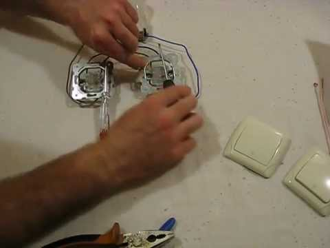 Подключение проходных выключателей своими руками видео