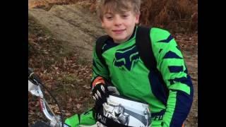 6. Ethan & his KTM85 sx