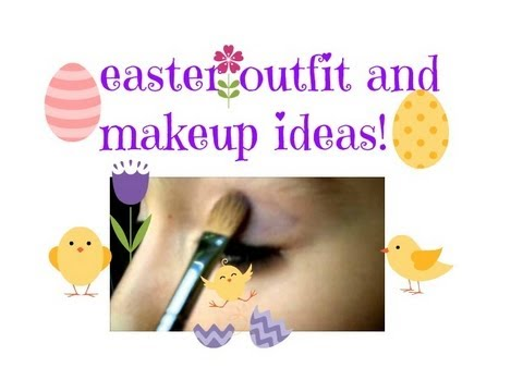 Easter Outfit & Makeup Ideas!