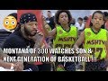 Montana of 300 WATCHES Son & The Next Generation of Basketball! Jayden Davis GOES OFF!!!