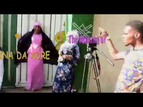 The making of KINA DA AURE, FT Abdul m Sharif, Ibrahim Bala,ummi Ibro,Kalla Musa,ajipapbalarabe jaji