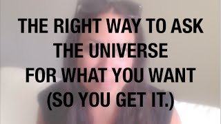 Nonton How To Ask The Universe For What You Want   So You Get It  Film Subtitle Indonesia Streaming Movie Download