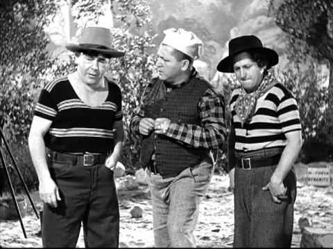 Die 3 Stooges in Deutsch - Yes, We Have No Bonanza 2/2