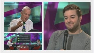WT4 is this about? In a new interactive show Alex Brooker from Channel 4's The Last Leg talks to Jon Snow about disability... and ...