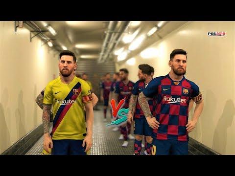 Download Team Messi Vs Team Ronaldo Pes 2018 Experiment Video 3GP