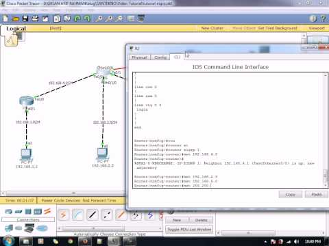 Cara Konfigurasi Static Route Cisco