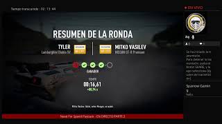 DIRECTO DEL CANAL - Need For Speed Payback, Hasta el Final